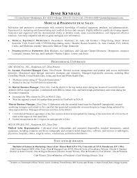 Pharmaceutical Sales Sample Resume Resume Good Objectives For Pharmaceutical Sales Luxury Medical 2