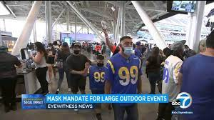 Mask mandate takes effect for large ...
