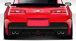 2014-2015 Chevy Camaro Duraflex GT Concept Wide Body Kit - 8PC ...
