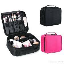 large makeup organizer toiletry bag adjule train case cosmetic waterproof travel bags for women s from best with lights