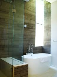 freestanding bathtubs for small spaces. minimalist bathroom photo in austin freestanding bathtubs for small spaces b