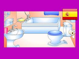 bathroom in spanish.  Spanish U201cIn The Bathroomu201d Spanish Lesson 12 CLIP U2013 Learn Bao Words Easy  Espaol Kids Language  YouTube Throughout Bathroom In Spanish L