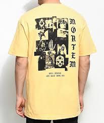 Empyre Mortem Yellow T Shirt In 2019 Yellow T Shirt