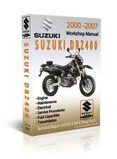 drz manual suzuki drz400 drz400 sm shop service manual parts catalog and diagram cd only