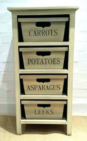 vegetable bins for kitchens le bins for kitchen storage bin wood wooden rack drawers baskets country