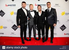 Emerald and Ivy Ball 2013 Featuring: Boyzone,Shane Lynch,Keith Stock Photo  - Alamy