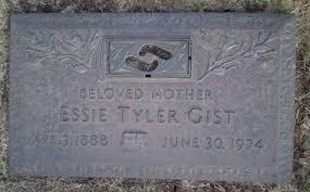 Essie Tyler Gist (1888-1974) - Find A Grave Memorial