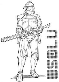 Small Picture The Clone Trooper Drawing in Star Wars Coloring Page Download