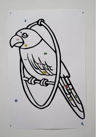 1 Papegaai 27 Kunstenaars 24 Kleurplaten Billytown Den Haag