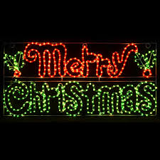 Merry Christmas Light Up Signs Outdoor Merry Christmas Sign Outdoor Micro Bulb Rope Light