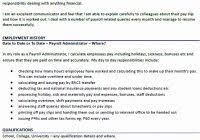 Payroll Administrator Cover Letter Payroll Administrator Resume Www Sailafrica Org