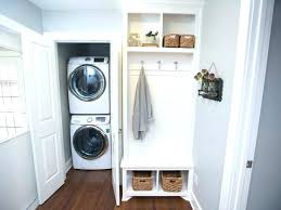 washer and dryer in master closet closet washer and dryer linen lover stacking a washer and