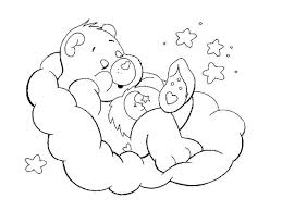 Small Picture Care Bears Coloring Pages Miakenasnet
