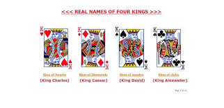 We make shopping quick and easy. Real Names Of Four Kings In Playing Card King Of Spades Playing Cards King Of Hearts