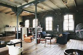 Industrial Style Interior Design Rustic Industrial Interior Design