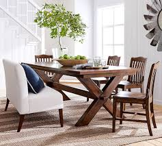 stylist inspiration pottery barn white dining table room tables toscana