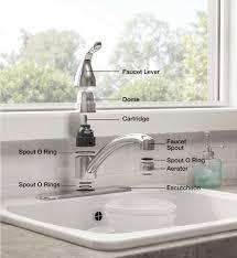 faucet parts kitchen single lever faucet parts bath two handle