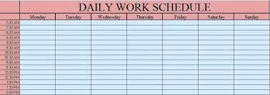 Excel Class Schedule Template Nursing Scheduling Templates Weekly