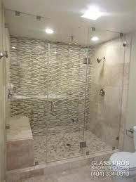 frameless glass shower walls glass shower enclosure diy frameless glass shower walls