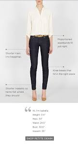Petite Fit Guide The Limited Slender Columns Body Type