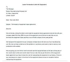 lease agreement letters termination letter format example of lease agreement letter