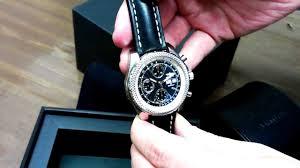 breitling bentley gt black dial chronograph automatic mens watch breitling bentley gt black dial chronograph automatic mens watch a1336212 b960bklt