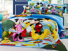 mickey mouse toddler bed set duvet