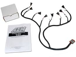 universal core accessory wiring harnesses aem pn 30 3805 01 ford injector sub harness