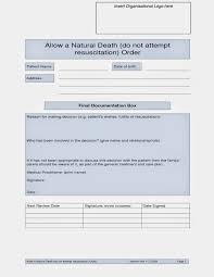 Sample Do Not Resuscitate Form Sample Do Not Resuscitate Form Resume Template Sample 12