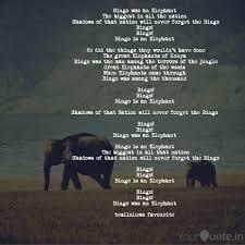Bingo Was An Elephant Th Quotes Writings By Temiloluwa