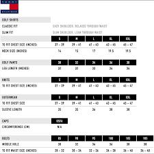 Tommy Hilfiger Plus Size Chart Tommy Hilfiger Shirt Size Guide Uk Rldm