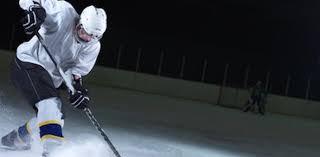 ice hockey fitness banner