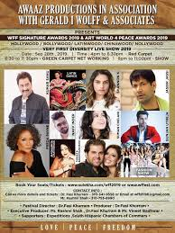 Wff Signature Awards 2019 Art World 4 Peace Awards 2019