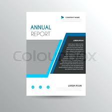 Buy Brochure Templates Simple Brochure Layout With Blue Accents Buy This Stock
