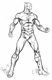 Small Picture comics flash coloring pages