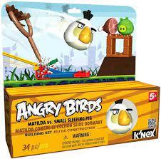 Spielzeug Film, TV & Videospiele K'NEX Angry Birds Mini Figures Building  Set KING PIG ANGRY BIRDS TOYS softland.la