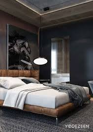 Incredible Bedroom Mens Bedroom Ideas With Strong Masculine Taste  Pertaining To Mens Bed Frames ...