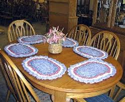 Free Crochet Placemat Patterns Simple Free Crochet Patterns Oval Placemats Pakbit For