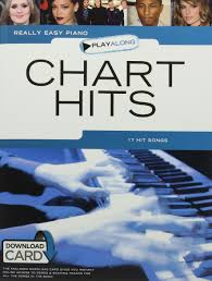 Really Easy Piano Playalong Chart Hits Book Audio Download