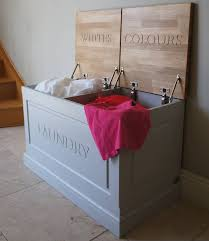 Laundry Box Available In A Choice Of Colours  Notonthehighstreetcom