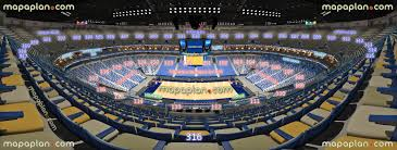 Smoothie King Arena Seating Chart Smoothie King Center Arena View From Section 316 Row 14