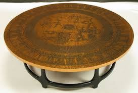 coffee tables ideas admirable hammered copper table round regarding designs 8