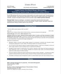 Non Profit Resume Fresh What Goes In A Resume Luxury Executive