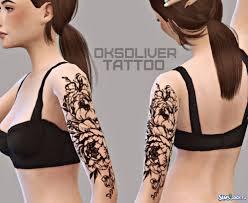 татуировки для симс 4 скачать бесплатно татуировки для Sims 4