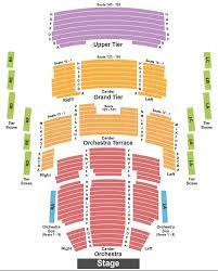 Mondavi Center Seating Chart Davis