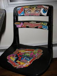 diy comic book desk. Wonder Woman \u0026 Spider Man Desk Chair Diy Comic Book