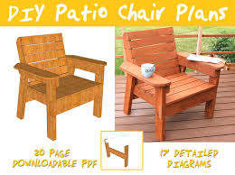 wood patio furniture plans. Best Scheme Diy Patio Chair Plans And Tutorial Step By Videos S Of Wood Furniture Design Ideas