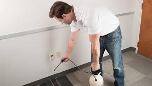 pest control eugene. Fine Eugene A Professional Exterminator Applying Pest Sprayer On Floor  Inside Pest Control Eugene