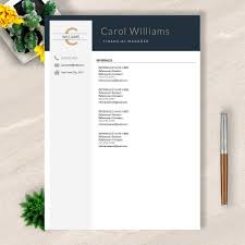 Resume Template For Word Pages Google Docs No 005