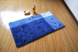 blue bath rugs designer bathroom rugats with nifty elegant blue branches and leaves non blue bath rugs